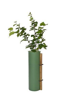 60cm Tubex Shrub Shelter Guard & 75cm Support Stake Shrub Planting Package x20