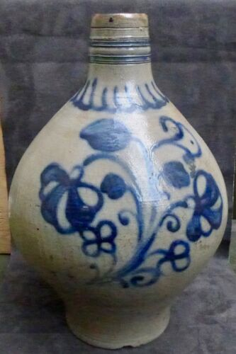 TOP quality 18th Century German stoneware large jug found in a canal Amsterdam