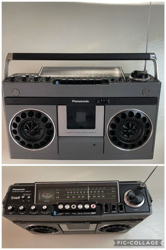 Vintage (1997) Panasonic RS-466AS Stereo Tape Boombox Currently Untested