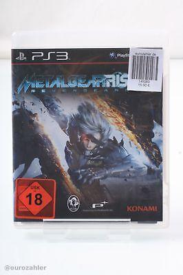 Konami Metal Gear Rising: Revengeance (uncut) - PS3 Playstation 3 Spiel Game
