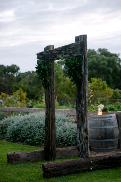 rustic wedding arch arbor miscellaneous goods gumtree