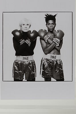 ANDY WARHOL and JEAN-MICHEL BASQUIAT,1985,  Kunst-Postkarte
