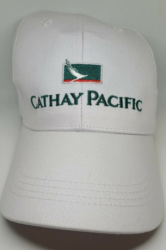 Cathay Pacific Airlines Rare Collectible Logo Sports Cap Hat White - Brand New