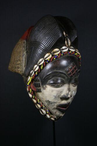 African Okuyi helmet mask - PUNU tribe - Gabon, TRIBAL ART, AFRICAN ART CRAFTS