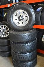 """5 SET 15"""" ALLOY WHEELS AND TYRES 31/10.5/R15 + GOOD CONDITION Virginia Brisbane North East Preview"""