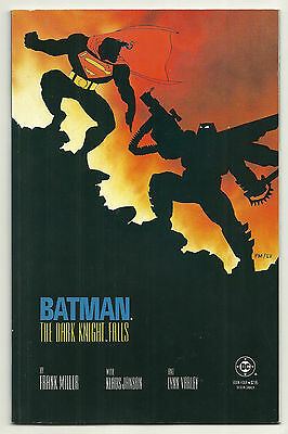 Batman The Dark Knight Returns 1986 #4 1st Print Very Fine Frank Miller