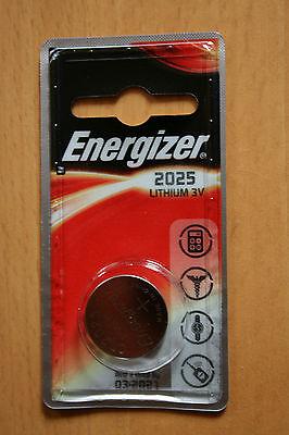 4 x Energizer Lithium CR2025 DL2025 , 4 x 1er Blister, bis 3/2022 ()
