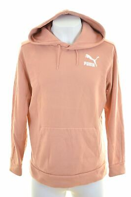 PUMA Mens Hoodie Jumper Small Orange  CD04