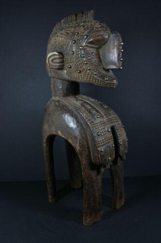 African NIMBA Fertility Harvest mask - BAGA Guinea, TRIBAL ART PRIMITIF CRAFTS