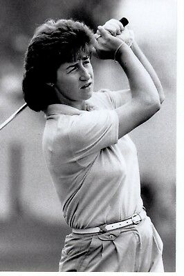 Original Press Photo Golf Susan Moorcroft Chelmsford Essex September 1989