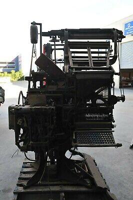 Vintage Typesetting Machine
