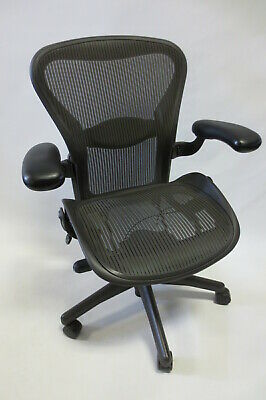 Herman Miller Aeron Chair - Size B - Fully Adjustable - Excellent Condition