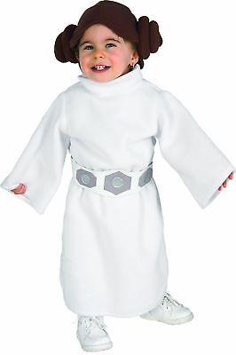 Rubie's Official Disney Baby Princess Leia Fancy Dress Toddler Star Wars - Princess Leia Costume Infant
