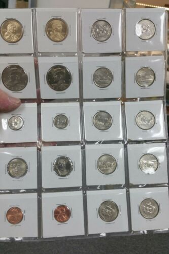2006 P&D UNCIRCULATED BUSINESS STRIKE 20 COINS MINT FRESH FULL STEPS NICKEL!!