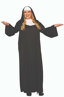 Forum Novelties Holy Religious Nun Adult Plus Size Halloween Costume 52716