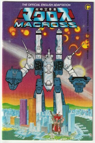 Macross #1 Comico 1984 1st Appearance of Robotech Saga Low Print Run NM