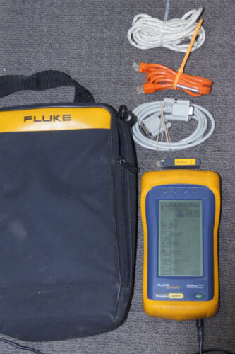 Fluke Networks OneTouch Series II 10/100 Network Tester w/ Extras