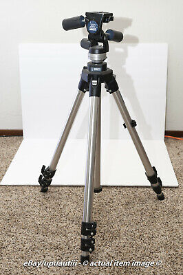 Manfrotto 3021S Tripod And Manfroto 3030 3-Way Pan Tilt Head