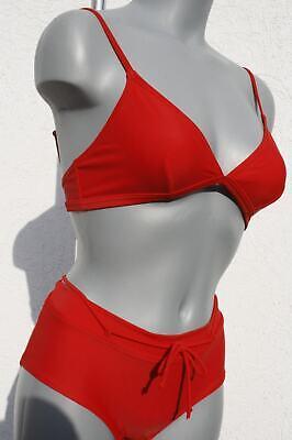 2019/20 Saison 380213 Bombsquad Marken Träger Bikini mit Pants Rot in 38 CUP B gebraucht kaufen  Hecklingen