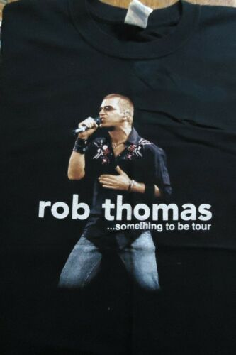 Vintage Rob Thomas 2006 Something to Be Concert Tour Shirt (Large)
