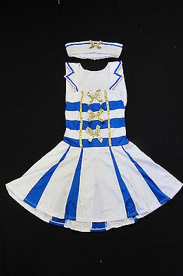 y Girl Halloween Boat Costume Sailorwoman Seawoman Mate NEW  (Cute Sailor Kostüme Halloween)