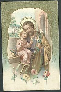 postal-antigua-de-San-Jose-andachtsbild-santino-holy-card-santini