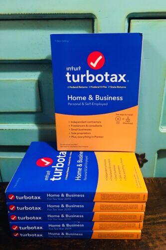 New Genuine 2019 TurboTax Home & Business E-File Windows/ Mac FAST ACCESS CODE!!
