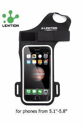 iPhone XS/X/7 Plus/8 Plus Sports Armband Case Gym Running Jogging Cover Holder