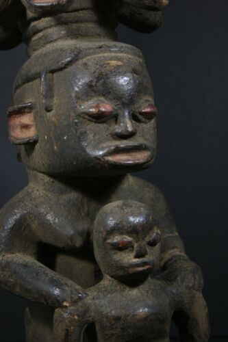 African Female Fertility Statue, FON tribe, Nigeria AFRICAN TRIBAL ART PRIMITIF