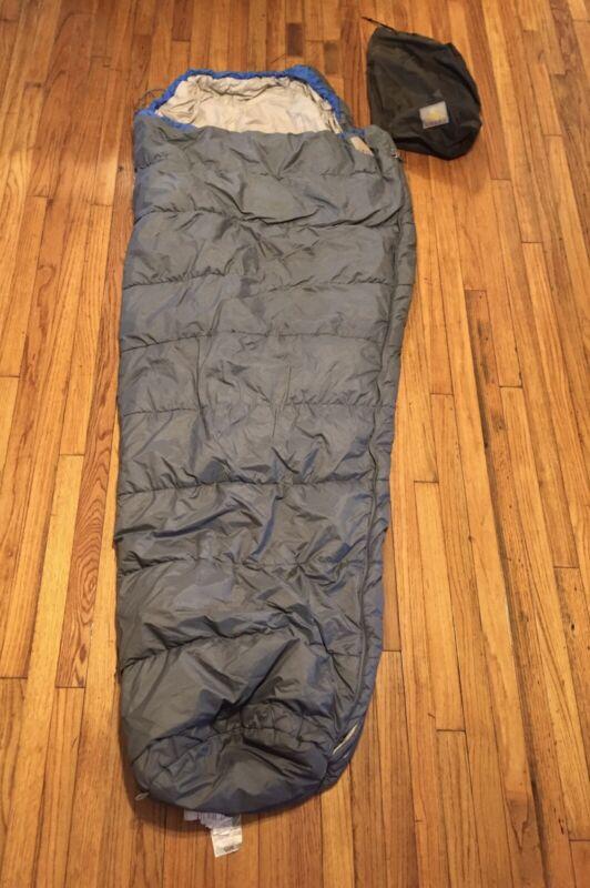 Kelty Gray Mummy Sleeping Bag w/Stuff Sack  Adult