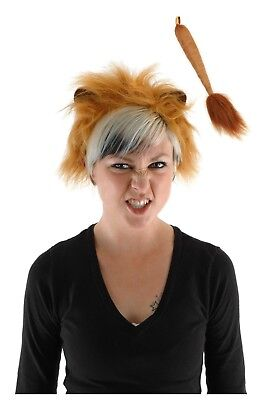 Adult Teen Kids Child Lion King Cat Cosplay Costume Ears Mane Headband Tail Set](Lion Kids Costume)