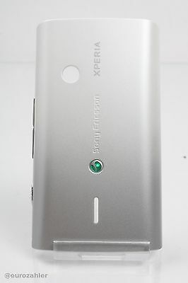 Sony Ericsson XPERIA X8 AKKUDECKEL WHITE/SILVER AKKUFACHDECKEL BATTERIECOVER ...