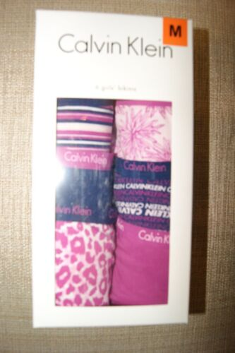 New Girls Calvin Klein Bikini Underwear S-XL Variety of Prints and Colors 6 Pack