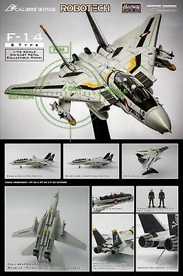 Calibre Wings 1/72 Robotech Macross F-14 Roy Focker S Type Diecast Model