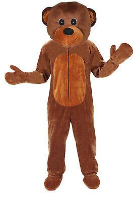 BÄR HAPPY TEDDY  EINHEITSGRÖSSE XXL  KOSTÜM FASCHING MASKOTTCHEN - Teddy Kostüm