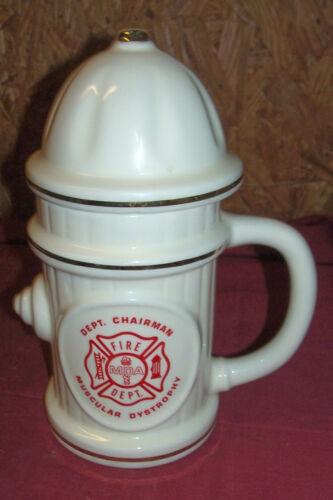 Big Fire Hydrant Beer Coffee Mug Glass Stein Firemans Firemens Firefighters Dept