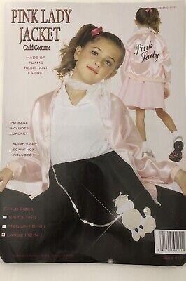 50s Child Pink Lady Jacket Size 12-14 - Kids Pink Lady Jacket