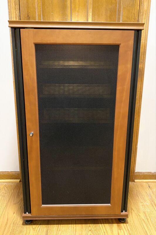 Salamander Synergy CD/Media Storage Cabinet in Cherry