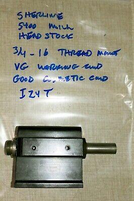 Sherline 5400 Mill Headstock 34 X 16 Thread Mount I24t