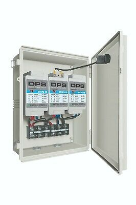 Single To 3 Phase Converter Suitable For 25hp18.7kw Motor 75 Amps 200v240v