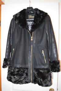 Woman's Guess Coat, Wool/Poly/Rayon, Tags Attached, Never Worn