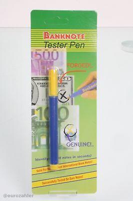 50 Stück Euro Banknoten Tester Gefälschte Banknoten Detektor Geld Prüfung