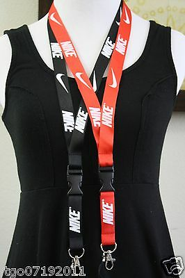 lanyard combination of red and other colors