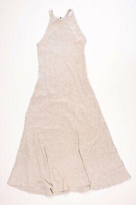 Polo Ralph Lauren Gray Thermal Maxi Dress Size XS
