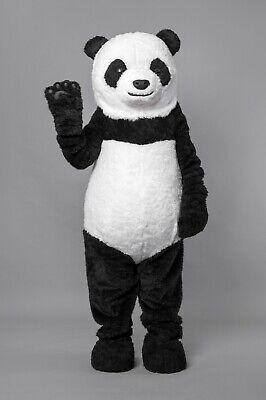 Panda Costume Mascot (Adult Panda Bear Costume Mascot One Size w/ cooling vest - HIGHEST)