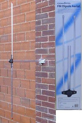 Omni-Directional Dipole Rod FM Radio Aerial Antenna inc Bracket