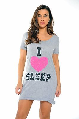 Just Love Cotton Sleep Dress for Women / Nightshirt ()