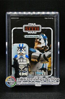 Star Wars Custom Carded Mini-figure Minifigure ROTS 501st Legion Clone Trooper