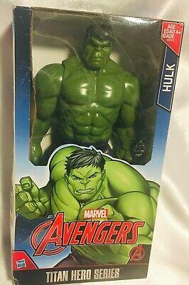 "MARVEL Hasbro Avengers Titan Hero Series Hulk 12"" inch Action Figure In Box!!"