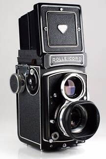 Rolleicord 5b K3Vb Near Mint MF TLR. Rolleiflex's leaner brother.